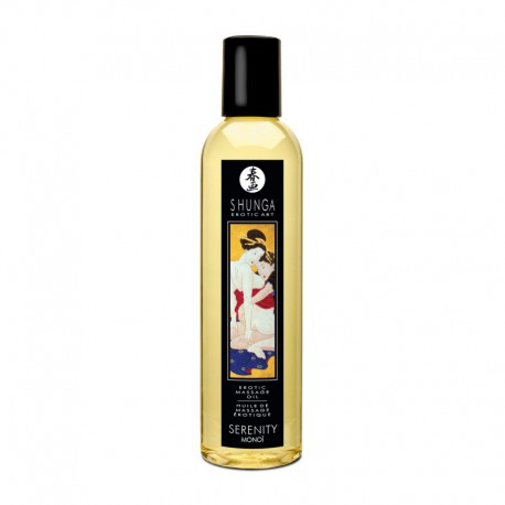 Aceite de masaje Shunga SERENITY (monoï)