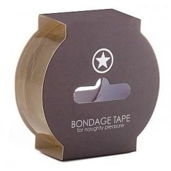 Cinta bondage transparente (17.5m)
