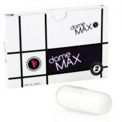 Cápsulas afrodisíacas unisex DAME Max (2)
