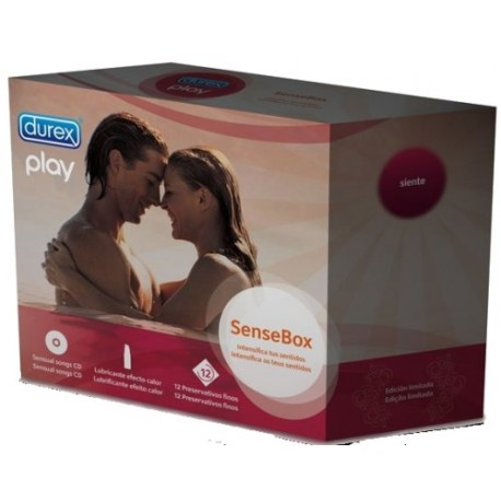 Pack Play Sense Box Durex