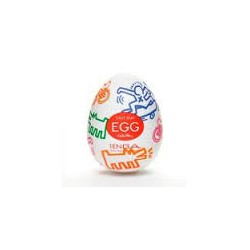 Huevo masturbador Tenga KEITH HARING - Street
