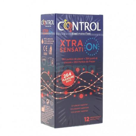 Condón Control XTRA Sensation (12)