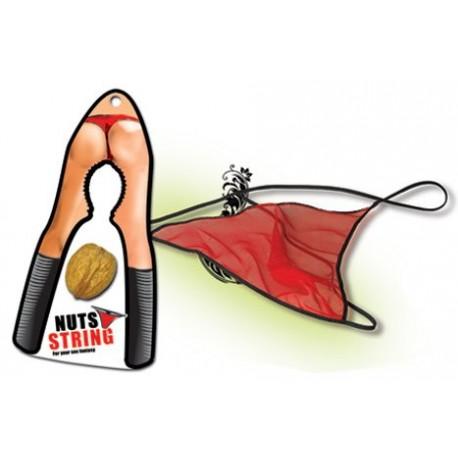 Tanga rojo nuez - ELLA