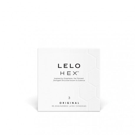 Condón LELO HEX (3)