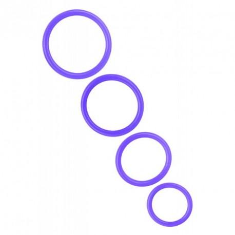 Set anillos silicona - TRINAL FANTASY (4)