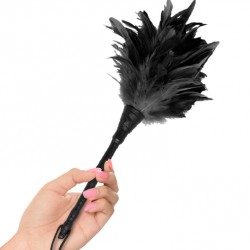 Plumero grande - Frisly Duster feather (NEGRO)