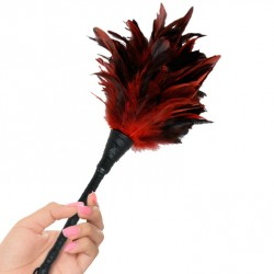Plumero grande - Frisly Duster feather (ROJO)