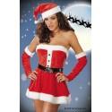 4017 - Vestido Navidad Mamá Noël - Santa Sweetie (6p)