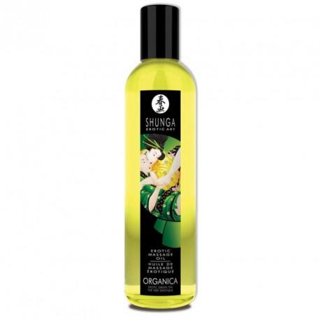 Aceite de masaje orgánico- TE VERDE- Shunga