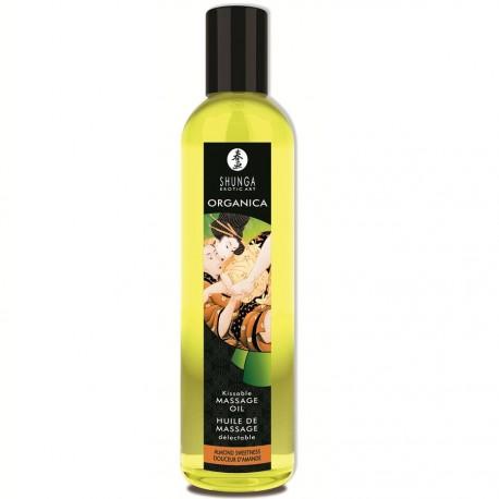 Aceite de masaje orgánico Almendras, Shunga