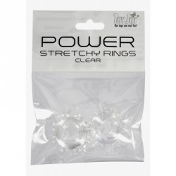 Power Stretchy Rings - TRANSLUCIDO