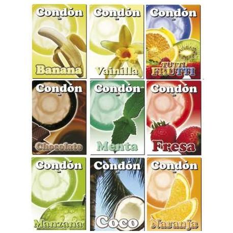 Condón Condomi Sabor - Fresa (1)