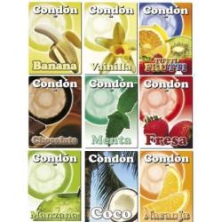 Condón Condomi Sabor - Naranja (1)