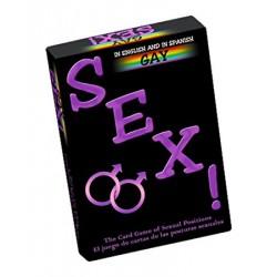 Juego de cartas ¡Sexo! Gay