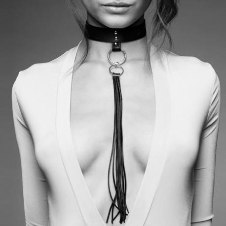 MAZE Collar con Flecos NEGRO