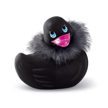 Pato grande vibrador PARÍS (con plumas)