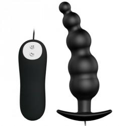 Plug vibrador tira anal - EXTRA Stimulation (12 funciones)