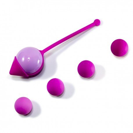 Pelvic Balls - bola + 4 pesos