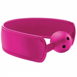 Mordaza Brace Ball Gag - ROSA transpirable