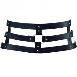 MAZE cinturón con correa - NEGRO