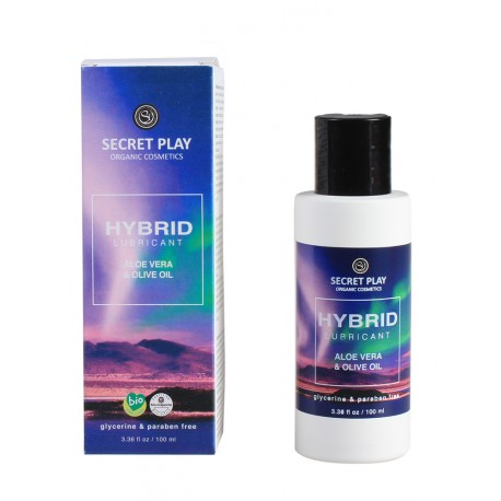 Lubricante 90% orgánico - HYBRID (100ml)