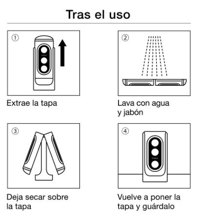 cómo limpiar flip Hole Tenga