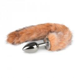 Plug con cola de zorro