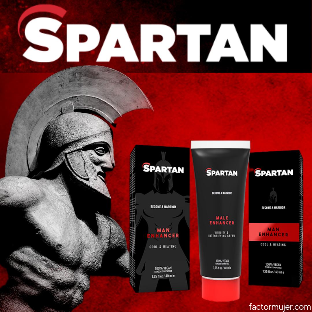 Gel spartan con fórmula natural para parejas