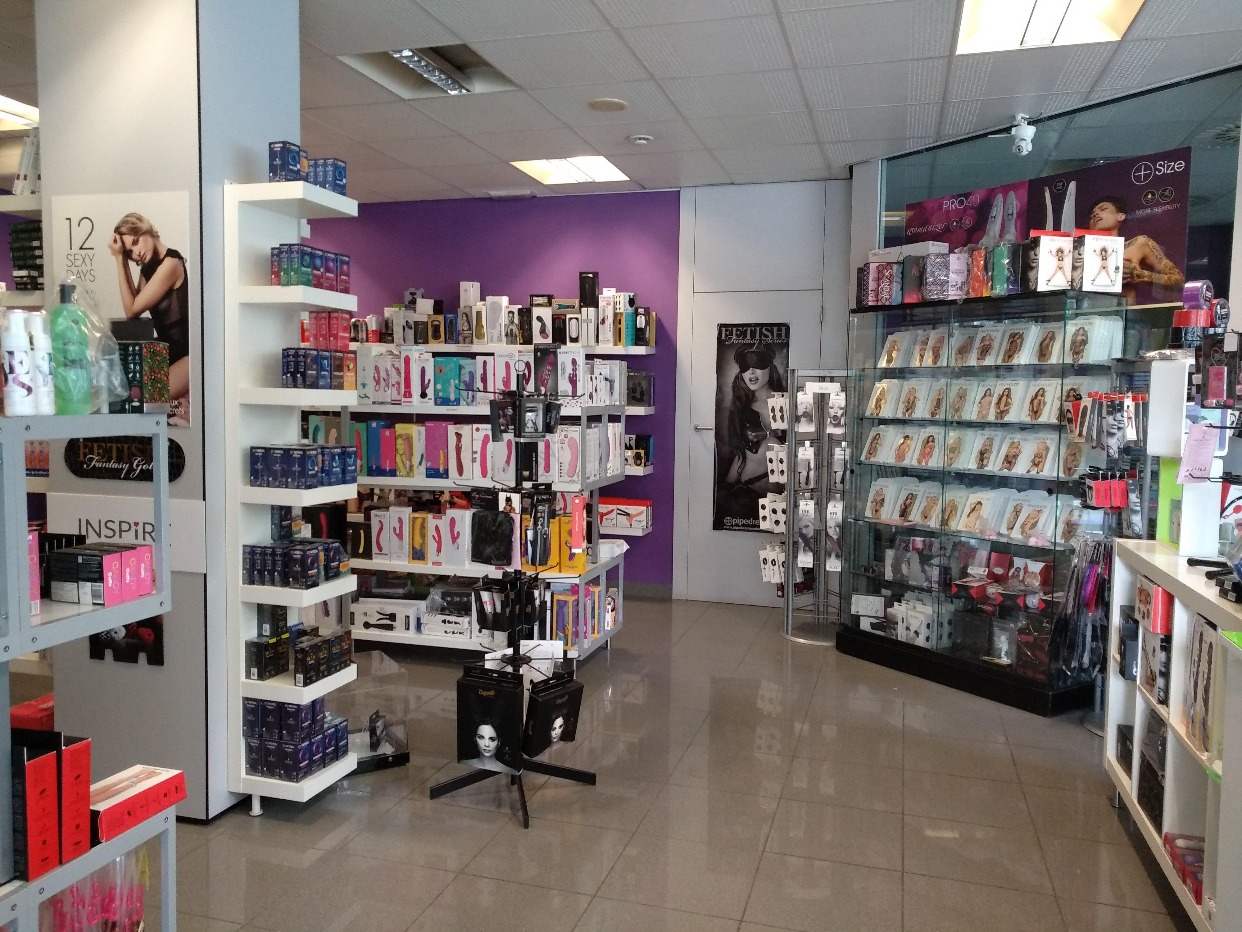 Sex shop Factor Mujer Terrassa, interior